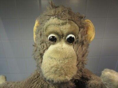 Hart Arbeitend Handpuppe Affe Monkey Steiff ? Alt Guter Zustand Bespielt Puppet Caro Old Rare