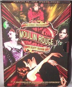 Dvd Moulin Rouge 2 Disc Englishfrench Nicole Kidman Near Mint Ebay