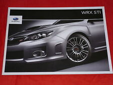 SUBARU WRX STI Prospekt von 2010