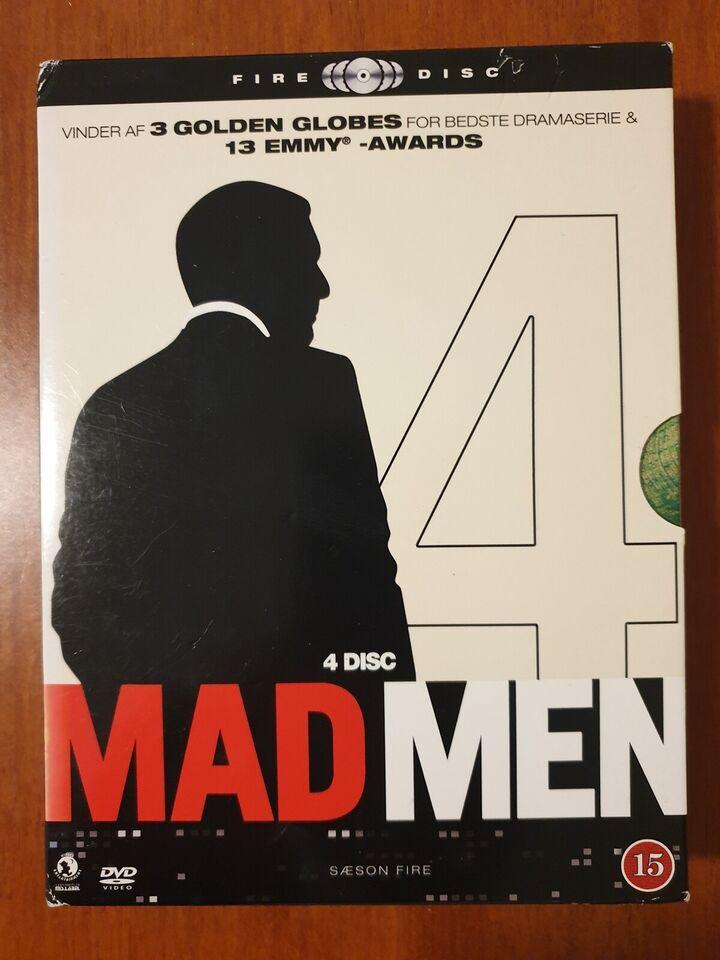 MAD MEN - Sæson 4 (Box-set med 4 Discs), instruktør Phil