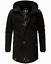 Weeds-senores-chaqueta-invierno-larga-chaqueta-Parka-abrigo-forro-calido-manakaa miniatura 11