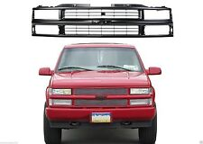 Front Paintable Black Grill For 1988-1998 Chevrolet/GMC Trucks New Free Shipping