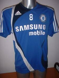 Image is loading Chelsea-Adidas-Training-Small-Football-Soccer-LAMPARD-Shirt - 02cb58fb1