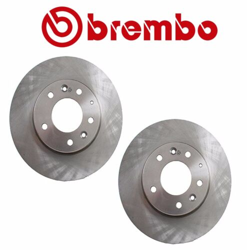 For Mazda 6 2003-2005 Pair Set of Front Disc Brake Rotors Brembo GK2Y 33 25XF