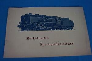 Marklin-MERKELBACH-SPEELGOEDCATALOGUS-1950
