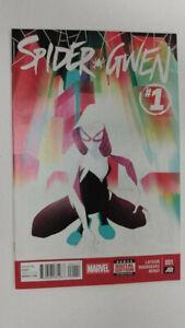 SPIDER-GWEN #1  1st Printing                                / 2015 Marvel Comics