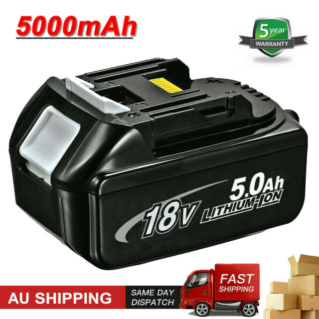 New 5.0AH 18V Lithium Ion Battery for Makita LXT400 BL1830 BL1840 BL1850 BL1860