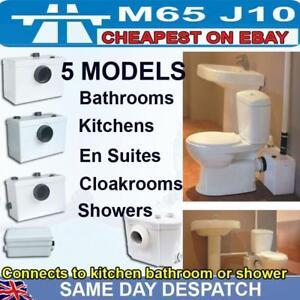Kitchen Sink basin bath shower WC toilet waste macerator pump small ...