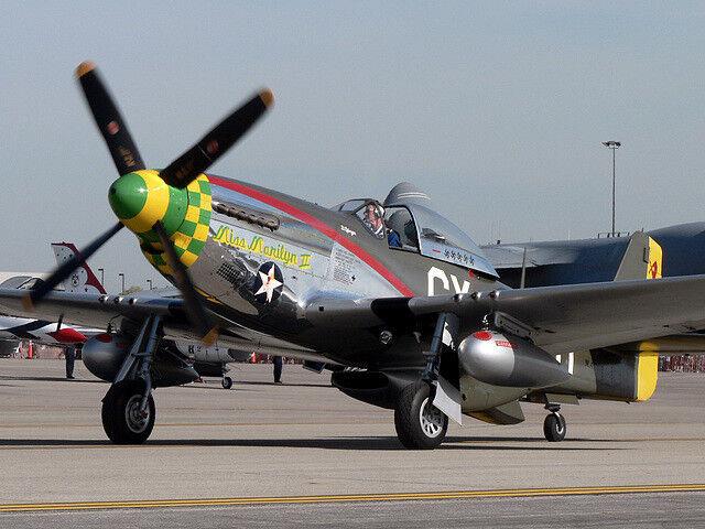 North North North American Mustang P-51   Miss Marilyn II   IXO Altaya 1 72 YAKAiR Aircraft 8fbe48