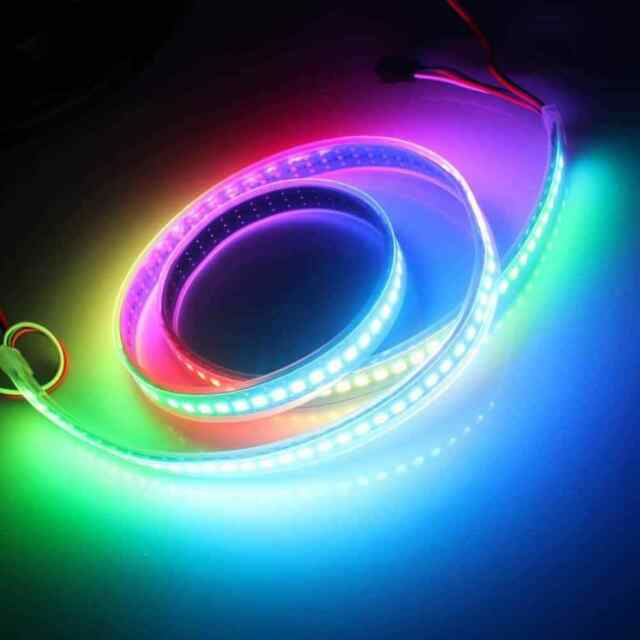 5m WS2812B ws2812 5050 RGB 5V Full color Addressable waterproof led Strip light
