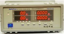 Bench TRMS DC Voltage Current Power Factor & Power Meter Analyzer Test PM9804A