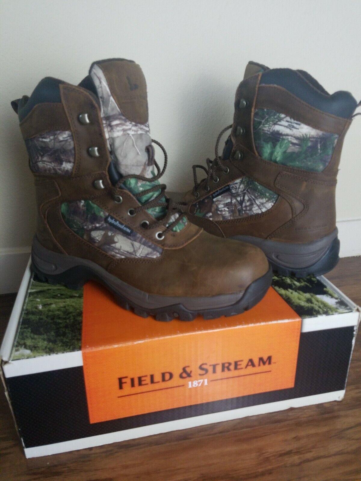 Field Stream et chaussures de chasse 11 Camo boisshomme Realtree Imperméable Champ