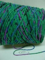 Astro Peacock Splash 1000 Ypp Forest Purple Cotton Chenille Yarn1.25 - 1.45 Lbs