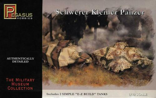Neu Pegasus Hobbies PG7605-1//72 Schwerer Deutscher Panzer