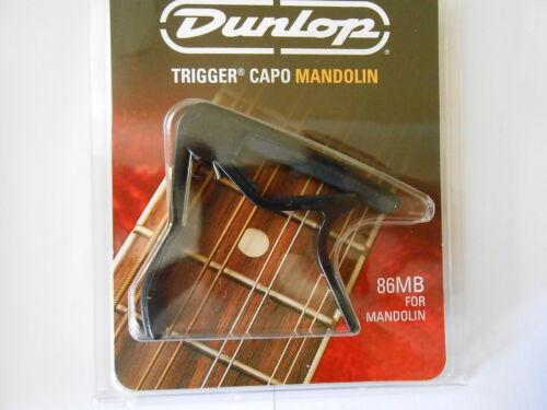 JIM DUNLOP TRIGGER CAPO ACOUSTIC,ELECTRIC GUITAR BANJO OR MANDOLIN BLACK SILVER