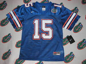 save off 7182e feb51 Details about NWT NIKE FLORIDA GATOR TIM TEBOW JERSEY KIDS YOUTH SZ 6