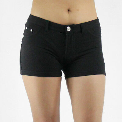 New Sexy Stretch Cotton Casual Moleton Shorts Various Colors Size S-2XL HON0027
