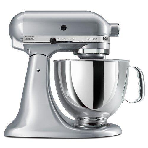 KitchenAid Artisan 325 Watts Stand Mixer - Metallic Chrome | eBay on kitchenette mixer, black mixer, delonghi mixer, tea mixer, banbury mixer, breville mixer, 4hp kemper mixer, wooden mixer, keurig mixer, wonder woman mixer, wolfgang puck mixer, magic chef mixer, moulinex masterchef mixer, berkel mixer, ge mixer, maytag mixer, krups mixer, logitech mixer, koflo mixer, hamilton beach mixer,