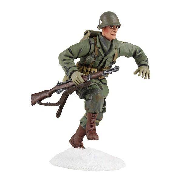 William Britains U.S. 101st Airborne Infantry Running Figure Number 25045 NEW