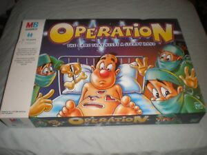Vintage-Operation-1999-Edition-Board-Game-MB-Games-complete-tested-working