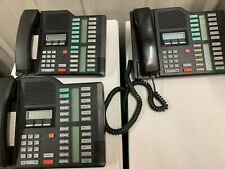 New Listingnortel M7324 Phone Black Lot Of 3