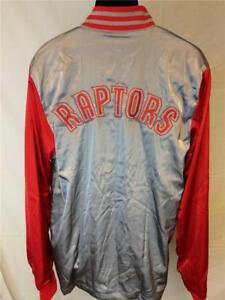 New Toronto Raptors Mens M-L-XL-3XL-4XL-5XL+2 On Court 2nd Half Jacket