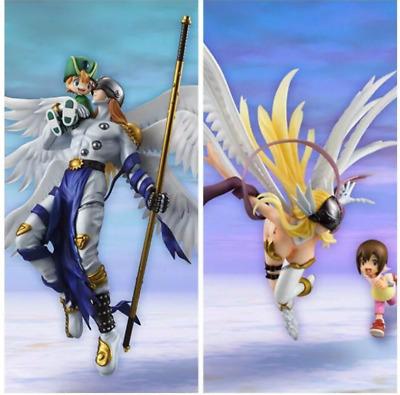 Angemon /& Takeru G.E.M Series Digimon Adventure PVC Figure New Loose