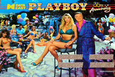 Data East Playboy 35TH Luz del Gabinete Pinball Mod Azul
