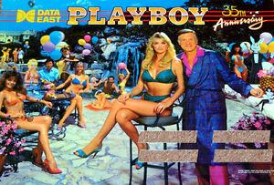Data East PLAYBOY 35TH ANNIVERSARY Pinball PLAYFIELD Light Mod BLUE