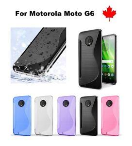 For-Motorola-Moto-G6-TPU-Anti-Scratches-Soft-Silicone-Rubber-Cover-Case