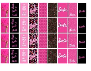 90-Barbie-Water-Slide-Decals-034-Be-A-Barbie-Girl-034-Nail-Decorations-Nail-Tech-DIY