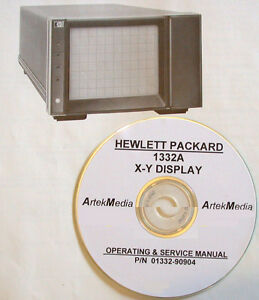 HP-1332A-X-Y-Display-Operating-amp-Service-Manual