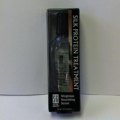 Salon Grafix Silk Protein Treatment Weightless Nourishing Serum 2 oz - New!!