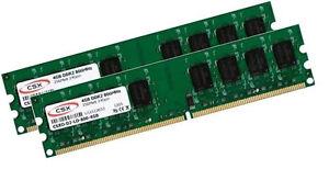 2x-4gb-8gb-ddr2-800-MHz-RAM-memoria-PC-pc6400-240-pin-pc2-6400-pc2-6400u-Intel