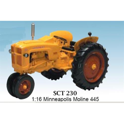 TRATTORE M.M.445 GAS NARROW 1 16 SpecCast Mezzi Agricoli e Accessori Die Cast