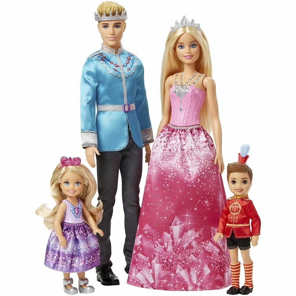 11 Barbie & Cavtuttio Puppe- Puppe- Puppe- Mattel -a Scelta  FPL90 Royal Famiglia b5931f