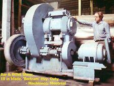 Bar Amp Billet Shear Bertram Hduty Mechanical 10in Bladealloy Steel