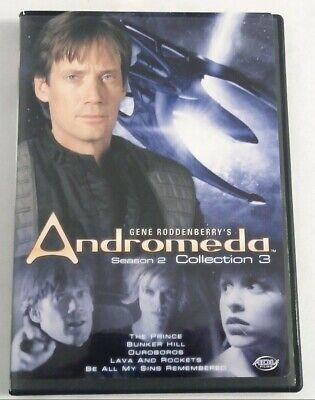 Andromeda Season 2 Collection 3 Episode 210 214 Ebay