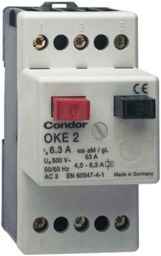 Condor pressure protezione del motore interruttore Oke 2 063 AA #202752 ip20 Interruttore