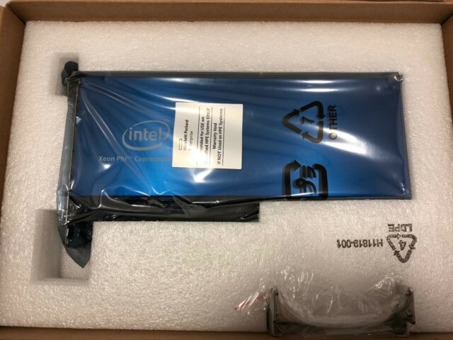 Intel Xeon Phi 7220P 1.2GHz/68-Core/16GB MCDRAM PCIe Coprocessor Card !New!