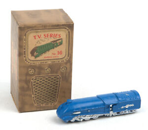 Vintage Benbros T.V Series No.16 Blue Streamlined Express Loco *BOXED*