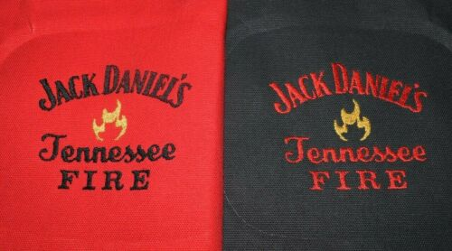 8 Embroidered Cornhole Bags Jack Daniels Tennessee Fire Corn or Pellets Nice!