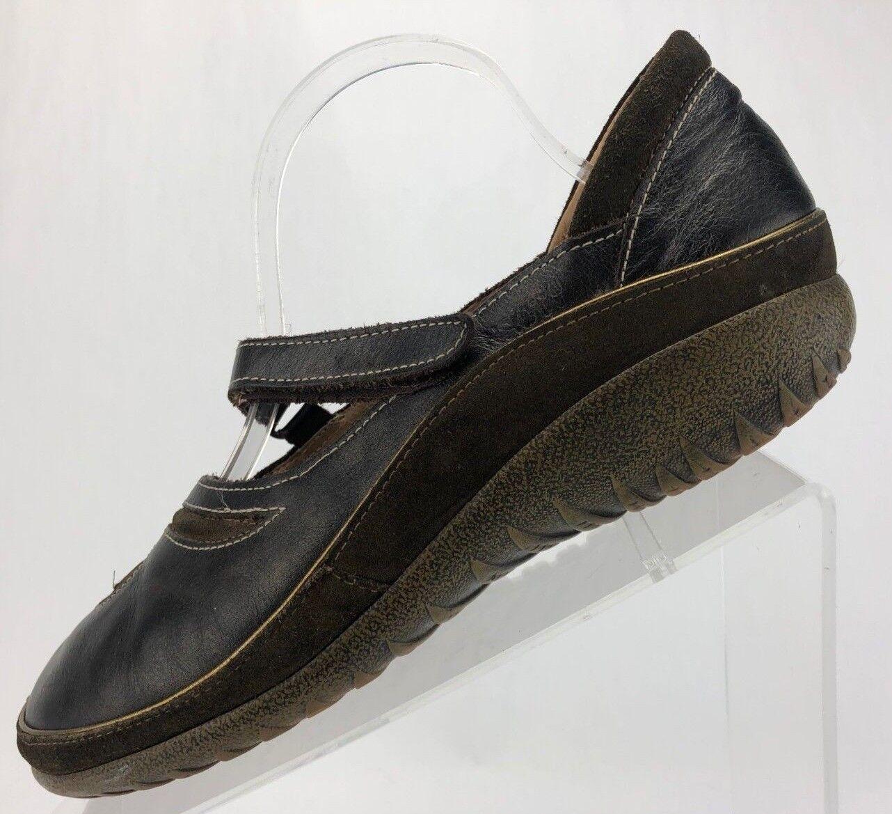 grandi risparmi Naot Matai Comfort Casual Walking Walking Walking Leather Mary Jane Flats donna 41,10.10.5 Brwn  edizione limitata a caldo
