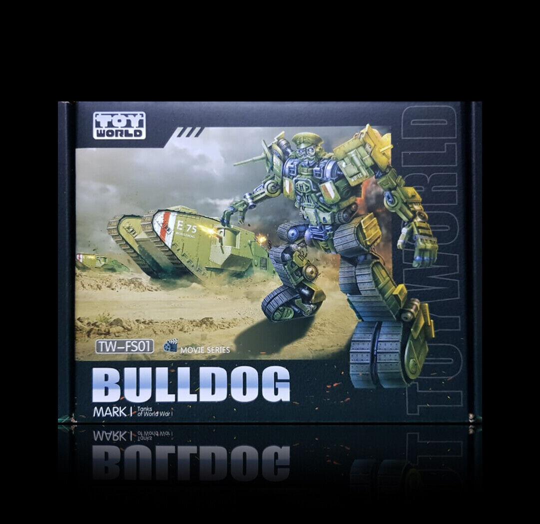 venta al por mayor barato Transformers Masterpiece JugueteWorld TW-FS01 el último caballero MP Bulldog Bulldog Bulldog sin usar y en caja sellada  buena calidad
