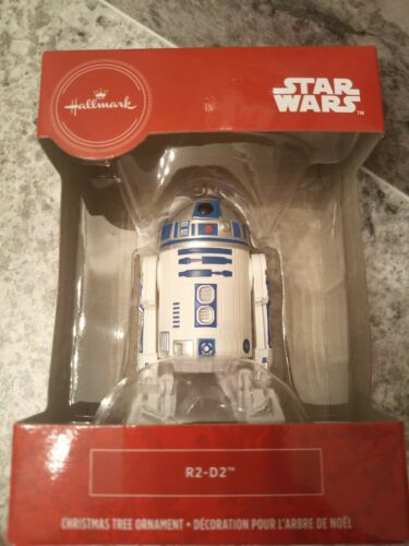 R2-D2 Starwars Christmas Decoration Hallmark Disney Brand new in box unopened