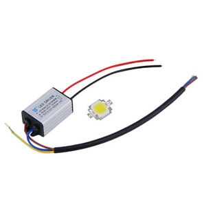 10W-LED-SMD-Chip-Bulbs-High-Power-With-Waterproof-LED-Driver-Supply-MK