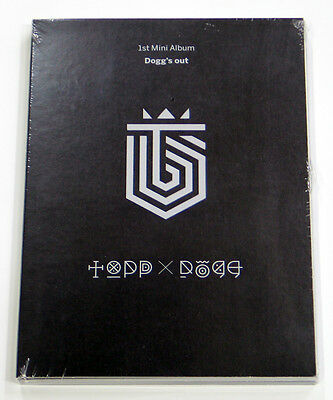 ToppDogg - Dogg's Out (1st Mini Album) CD K-POP KPOP