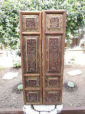 283P. Antique Carved Gold Gilt Wood Panel  for Pair w/Vase Screen 3.5 LB