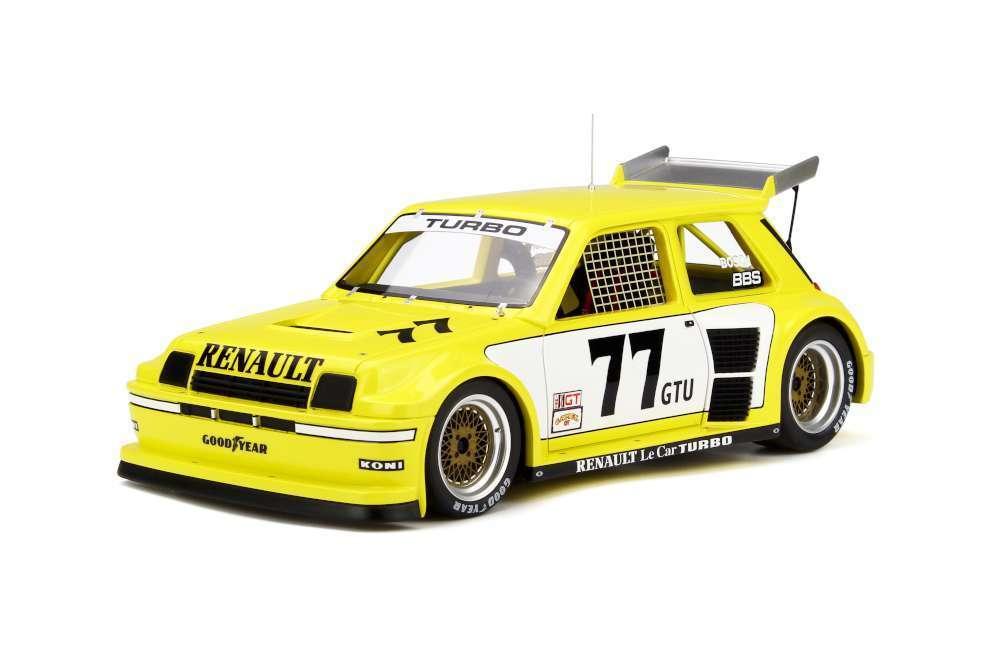 OTTO MOBILE 261 RENAULT Le Car Turbo ISMA resin model race car 1981 Ltd Ed 1 18