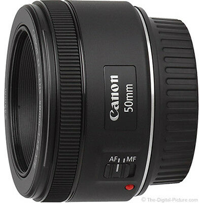 Canon EF 50mm f/1.8 STM Lens (Two Years Canon India Warranty & VAT Invoice)